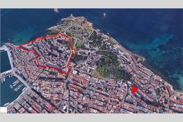 EXCLUSIVE PROJECT LAND READY TO BUILD 14 FLATS AND 27 PARKING SPACES CLOSE TO IBIZA'S HISTORIC OLD TOWN !!!