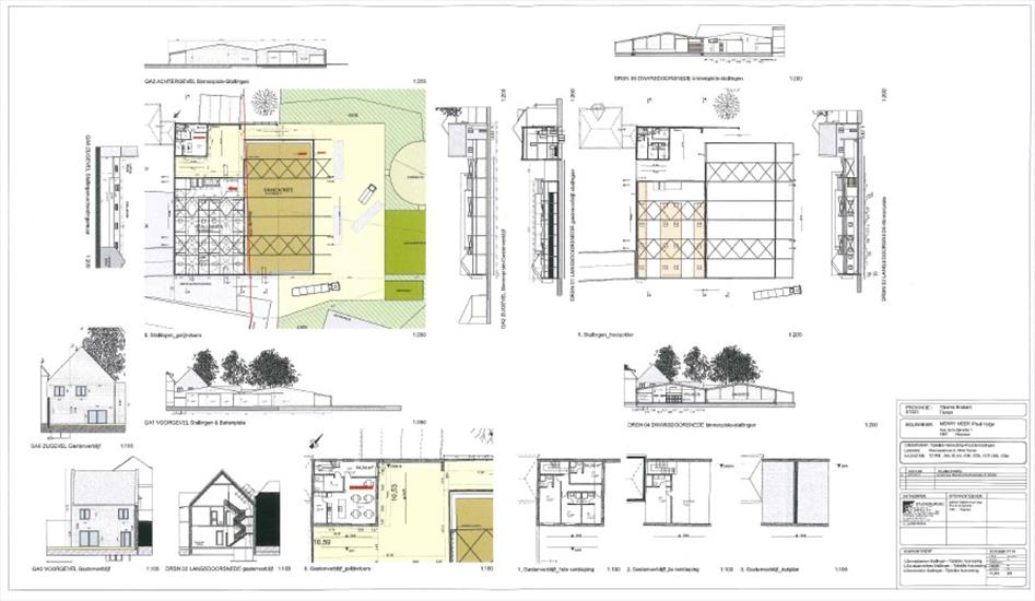 Building and agricultural land with possibility for professional horse accommodation on approximately 3ha in Tienen